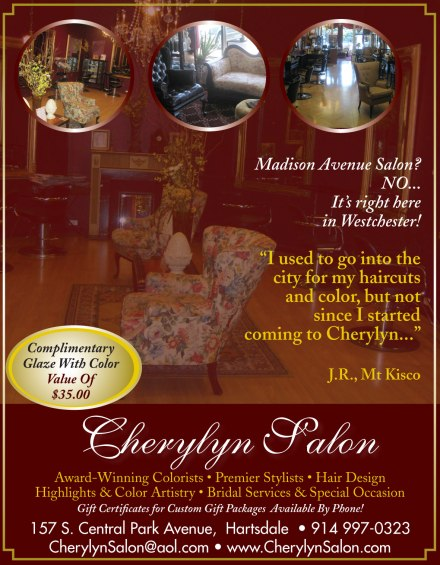 Cherylyn Salon magazine ad